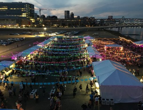 FEAST Night Market at Zidell Yards